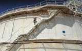 برگزاری مانور ایمنی و آتشنشانی در انبار نفت منطقه سبزوار