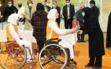 اختتامیه اردوی استعدادیابی تیم ملی بسکتبال باویلچر بانوان و تیراندازی بانوان