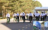 راه اندازی ایستگاه دوچرخه اشتراکی در شرکت پالایش گاز شهید هاشمی نژاد