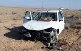 واژگونی خودرو در مهولات ۴ مصدوم برجای گذاشت