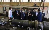 بازدید اعضای کمیسیون آموزشی و تحقیقات مجلس از واحد های دانش بنیان مشهد