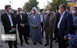 استاندار خراسان شمالی از پروژه پردیس سینمایی شیروان بازدید کرد