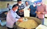 تهیه وتوزیع ۵۰۰ پرس غذای گرم بین نیازمندان توسط کارکنان شرکت گاز خراسان شمالی