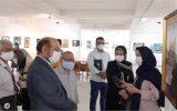 """نمایشگاه آثار نقاشی """"پرواز در آسمان هشتم"""" افتتاح شد"""