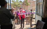 شانزدهمین خانه هلال شهرستان بیرجند در مسجد رضوی افتتاح شد