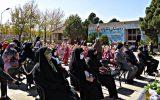"""جشن تحصیلی """"شکوفه ها"""" در مدرسه غیر انتفاعی دخترانه سما"""
